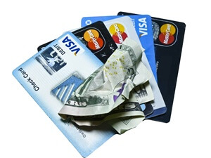 5 credit and debit cards