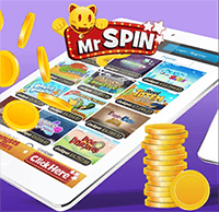 Mr Spin Casino has Fully Responsive Platform and Mobile App