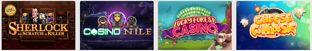The Casino Provides Big Variety of Games